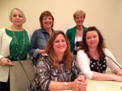 Stiff Upper Lip - British Investigations are Murder (Aly Monroe, Deborah Crombie, Anne Cleeland, Elly Griffiths and me)
