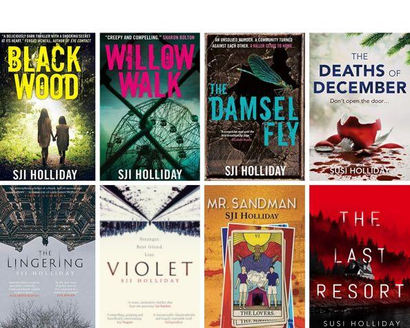 8 book grid
